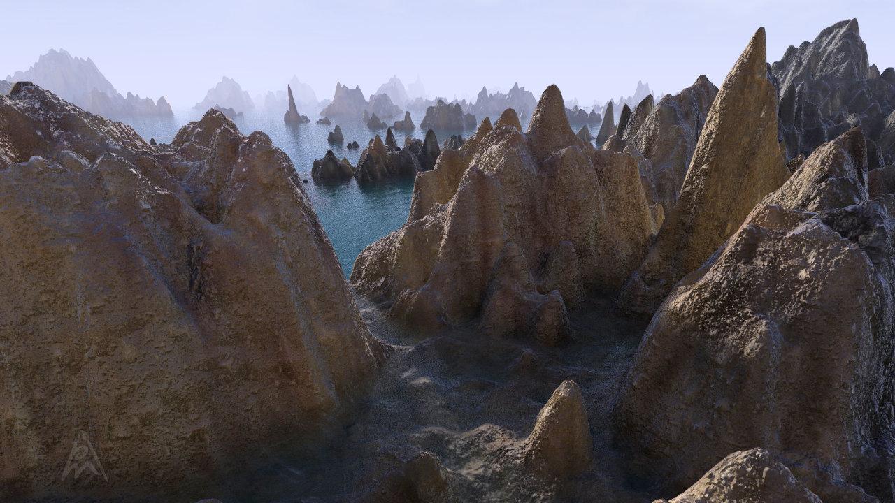 Fantasy Landscape 6