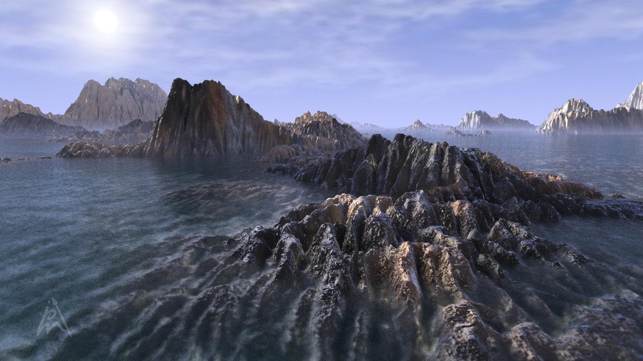Fantasy Landscape 2
