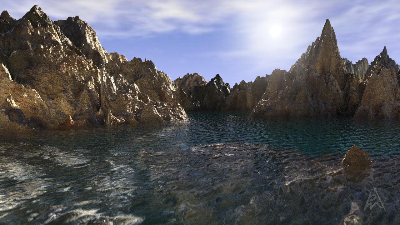 Fantasy Landscape 7