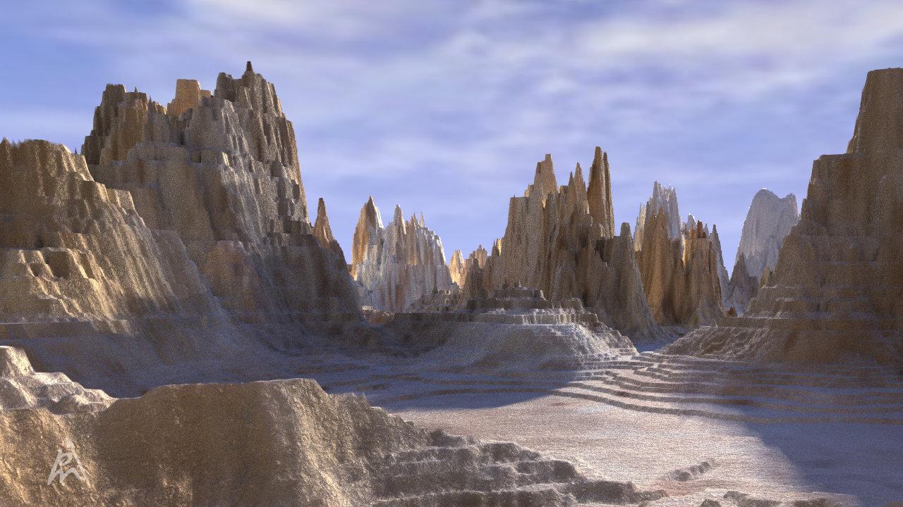 Fantasy Landscape 4