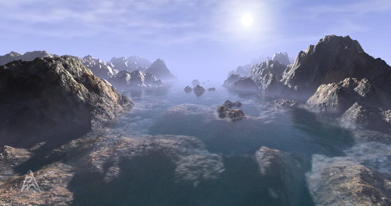 Fantasy Landscape 3